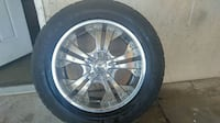 """RADD customs 20"""" rims with tires"""