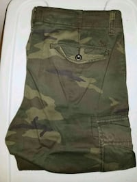 green and black camouflage cargo shorts Cambridge, N3C 4N2