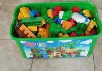 Lego table and box