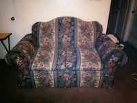 blue and white floral fabric sofa Lithia Springs, 30122
