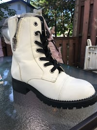 white leather boots from Call it Spring