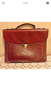 Italian leather briefcase/messenger Made in Italy Prattville, 36066