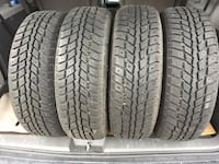 185/65/R15 set of 4 winter tires and rims good condition brand new just used for 2 month   558 km