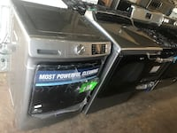 New top load washer and electric dryer 6 months warranty
