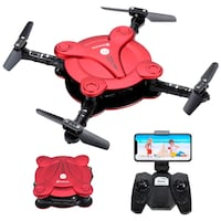 Foldable Pocket Drone for Kids and Beginners RC Quadcopter with Altitude Hold,Headless Mode and 3D Flip for Boys and Girls New York, 11232