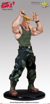 Guile 1/4 scale statue PCS. Sideshow collectible Philadelphia, 19146