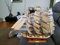 A and crafted model sailboat Toronto, M1L 2N5