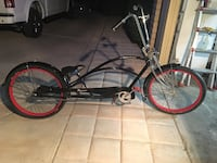black and red cruiser bike Las Vegas, 89178