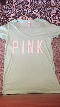 Mint Green Love Pink T-Shirt  null, N3W