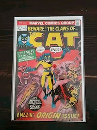 The Cat comic book #1  Bradford West Gwillimbury, L3Z 3A7