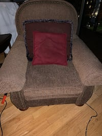 Cloth chair purchased at Jordan's Pick up only