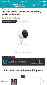 Amazon cloud cam security cameras - 2 Arlington, 22201