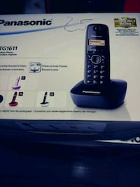 telefono wireless Panasonic nero e grigio Acerra, 80011