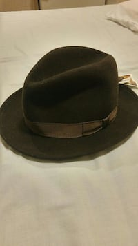 For sale - Brown Manhattan Crushable Fedora Hat
