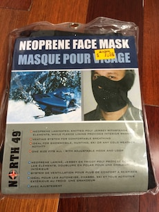 Brand new face mask
