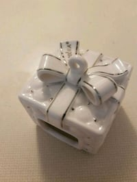 Pandora ceramic box ornament