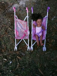 Baby doll into strollers $10 Fitzgerald, 31750