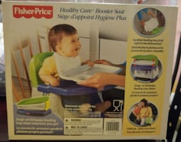 Preloved fisher price healthy care booster seat