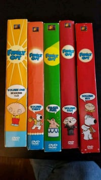 Family Guy DVDs Seasons 1-6 Calgary, T2P