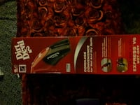 black and red hair clipper box