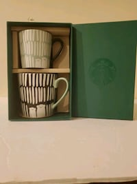 Starbucks Mommy and Me Coffee Mugs Gift Set, NIB