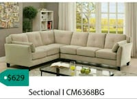 tufted white leather sectional sofa Garland