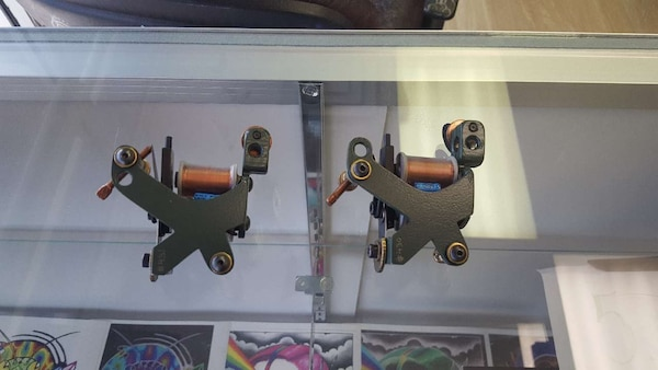Used 2 Mike Culley Tattoo Machines for sale in Colorado Springs - letgo 3d9bac63c