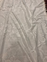 White window fabric curtains from home sense  Toronto, M3A 3M3
