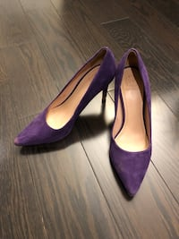 Tory Burch purple pumps - size 6 Toronto, M3M 2B7