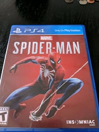Ps4 Spider Man game. Perfect condition Charlotte, 28205