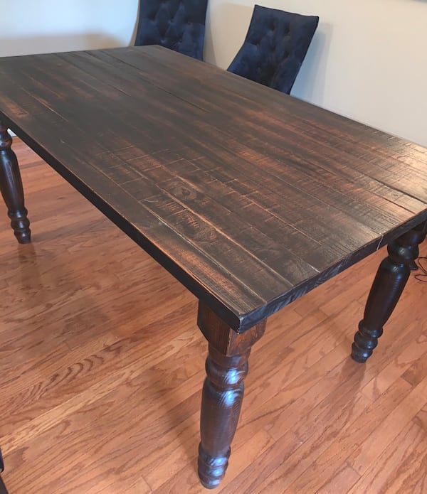 Wood Dining Room Table (sits 4) 1