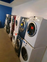 FRONT LOAD WASHER AND DRYER SET WORKING PERFECTLY