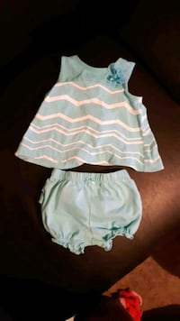 Super cute outfit size 0-3 months  Whitby, L1N 3C7