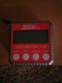 SPI digital protractor (precision)