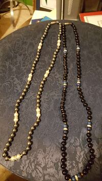 Pearl Rhinestone Accented Necklaces Los Angeles, 90038