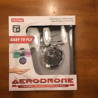 Aerodrone infrared controlled ball