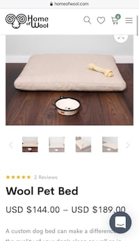 Pet Dog Bed from Home of Wool