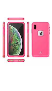 iPhone XR waterproof, snow proof and dustproof phone case. With inbuilt screen protector. Brand new