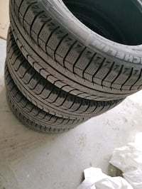 Set of 4 Michelin  winter tires 215/65/16