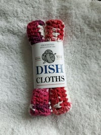 2 pk dishcloths 100 % cotton New Hamburg, N3A 1H2