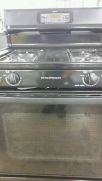Black gas stove  Lincolnia, 22312