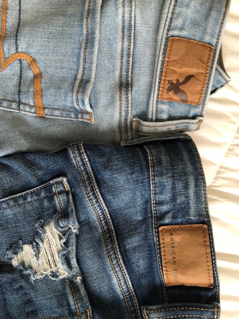 Photo Two American Eagle Shorts
