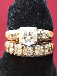 Gorgeous Diamond Wedding Ring Set Stafford, 22554