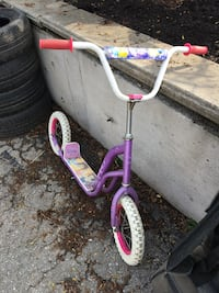 toddler's pink and white bicycle Wilmot, N0B