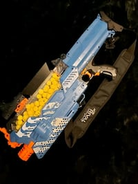 nerf Rival Nemesis with recharable batt and extra ammo! Mississauga, L5R 4H8