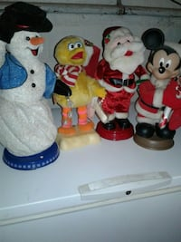 Battery Operated Santa,Mickey,Frosty,and BigBird Keymar, 21757