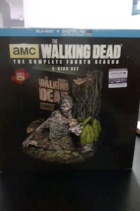 The walking Dead The complete fourth season Toronto, M9W 7C9