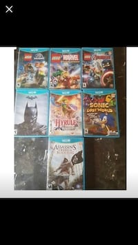 Wii U games ( sold separately Wichita, 67203