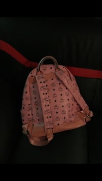 pink and white MCM leather backpack Decatur, 30035