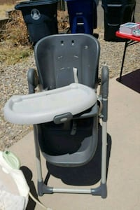 baby's black and white high chair Albuquerque, 87112